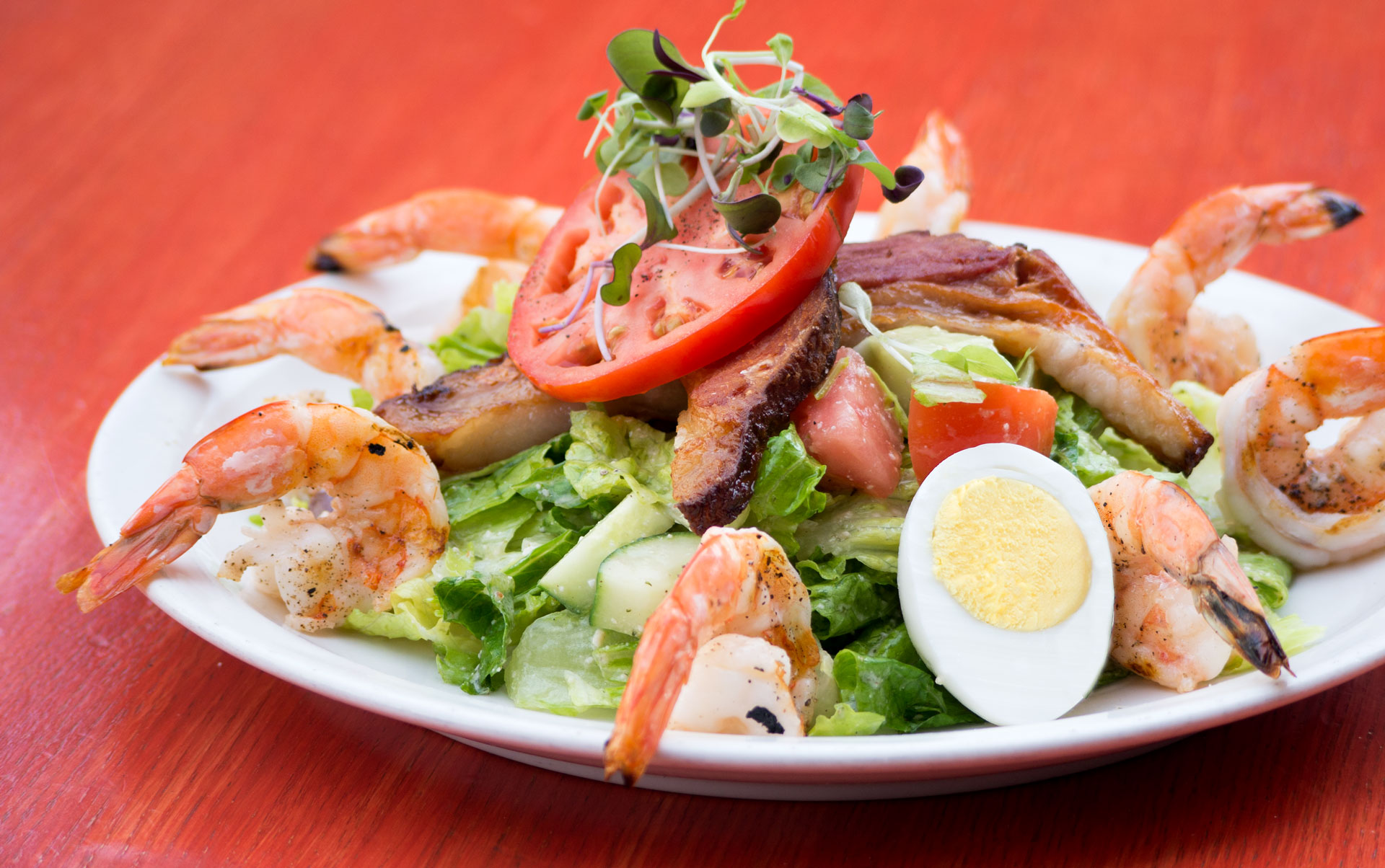 crab cobb salad